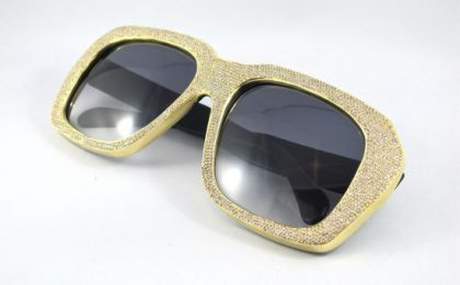 Oro e diamanti per gli occhiali Ultra Goliath 2 Diamond Edition by Ifandco e Vintage Frames Company [VIDEO]