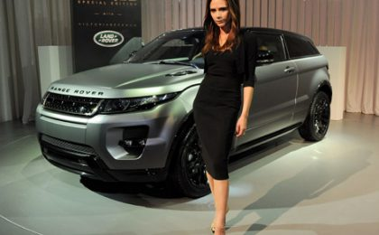 Al Salone di Pechino la Land Rover Evoque Special Edition by Victoria Beckham