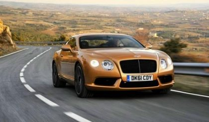 Bentley apre un nuovo showroom a Praga