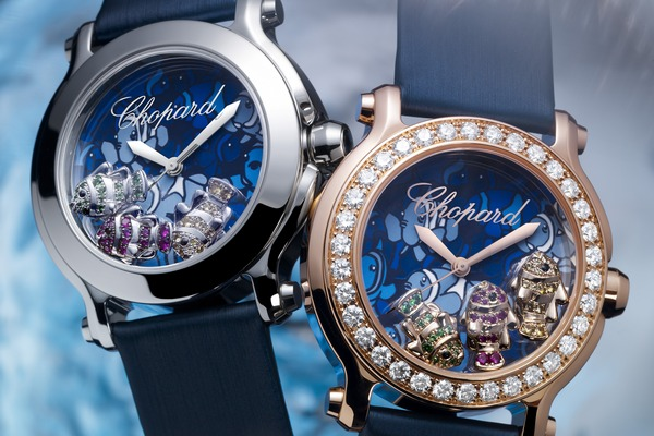 Chopard Happy Fish, l'orologio ispirato al mare