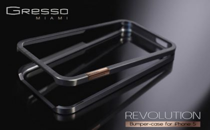 Gresso svela la cover Revolution in limited editon per l'iPhone 5
