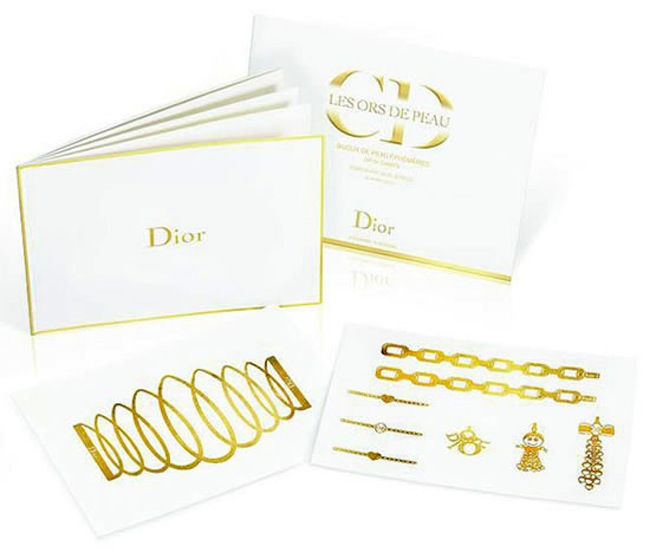 dior golden tatoo 1