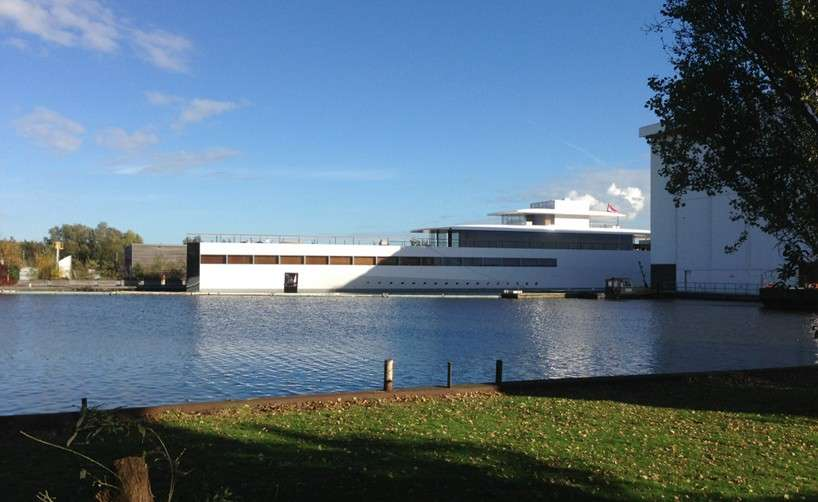 Venus, lo yacht superlusso di Steve Jobs al debutto in Olanda [FOTO e VIDEO]