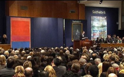 Record per l'asta di Sotheby's a New York: il più costoso un quadro di Mark Rothko