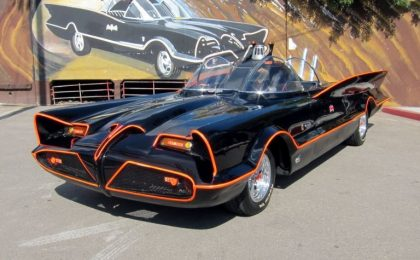 All'asta l'originale Batmobile, vale più di un milione di dollari