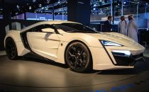 Lykan Hypersport 2013 by W Motors, supercar extralusso con oro e diamanti