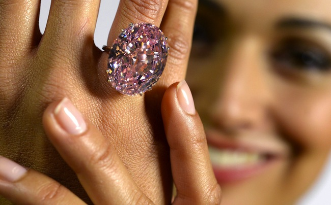 Diamante più costoso del mondo, Pink Star da record all'asta da Sotheby's