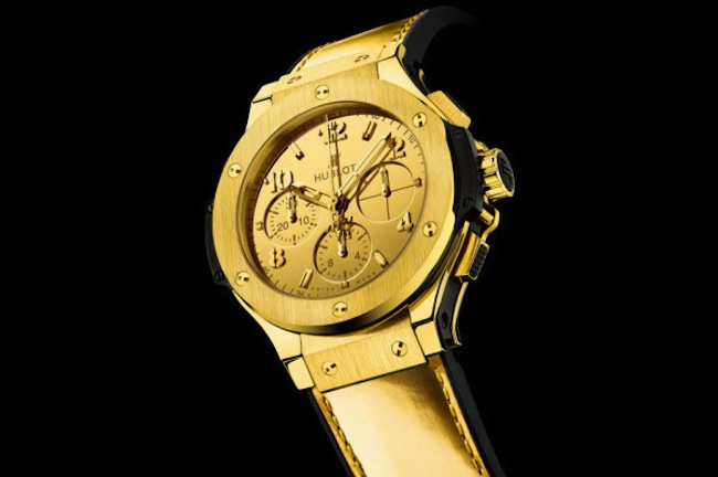 Orologi in oro, Hublot svela il suo Big Bang Hublot Zegg & Cerlati Yellow Gold