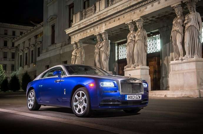 Rolls Royce Wraith premiata al Car of the Year Awards 2013 di Top Gear [FOTO]