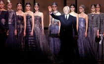 Armani Alta Moda primavera-estate 2014, leleganza magica di Re Giorgio a Parigi [FOTO & VIDEO]
