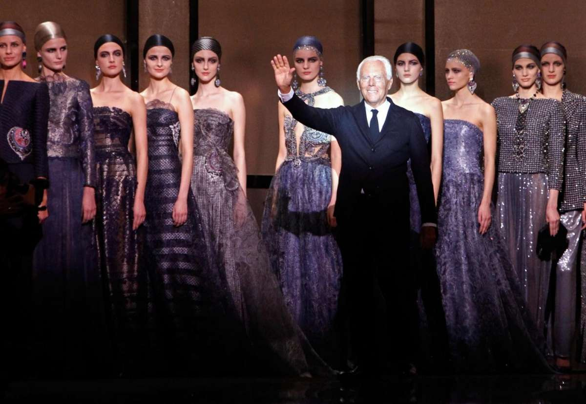 Armani Alta Moda primavera-estate 2014, l'eleganza magica di Re Giorgio a Parigi [FOTO & VIDEO]