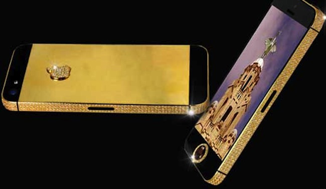 Cellulare più costoso al mondo, il primato dell'iPhone 5 Black Diamond by Stuart Hughes