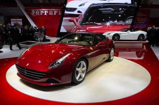 Ferrari al Salone di Ginevra 2014, debutto per la California T e il CarPlay by Apple [FOTO]