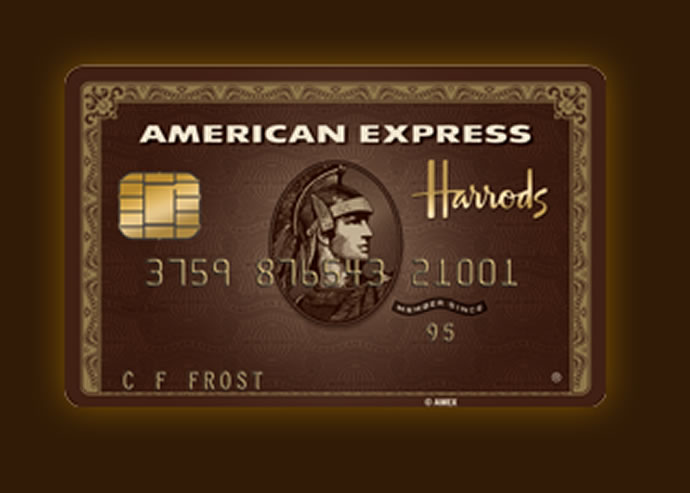 harrods american express card