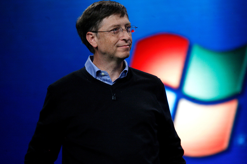 Bill Gates launches Microsoft Windows Vista operating system
