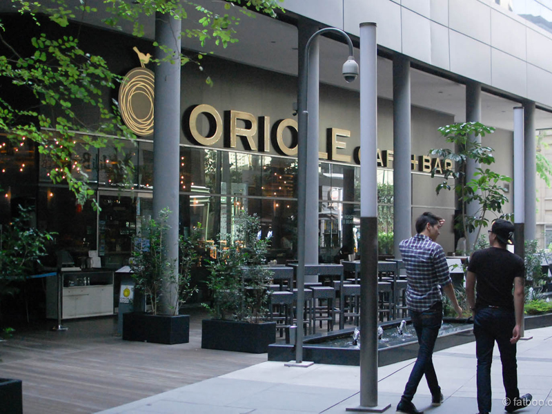 Oriole cafe Singapore