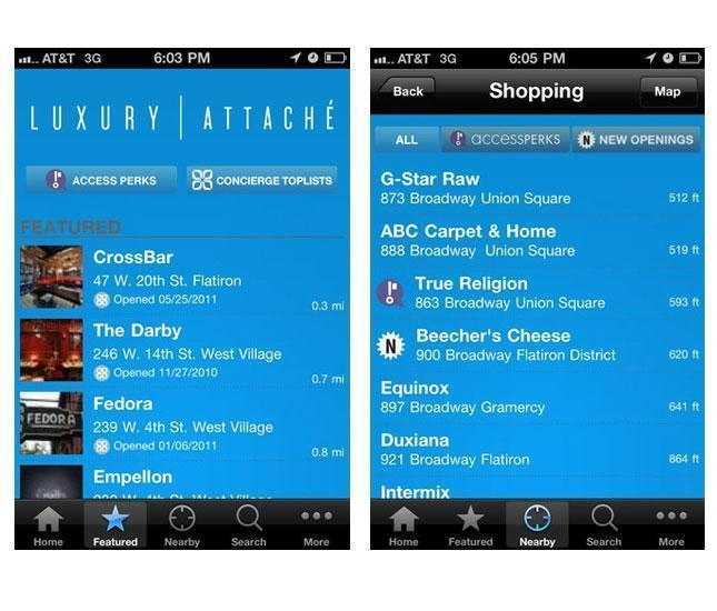 luxury attache app