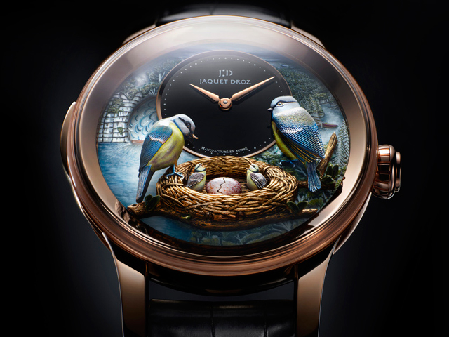Jaquet Droz The Bird Repeater Geneva
