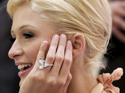 Paris Hilton Paris Latsis engagement ring