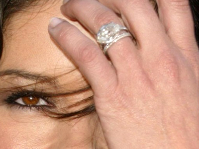 catherine zeta jones marquise engagement ring 1024x768