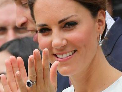 kate middleton engagement ring 1