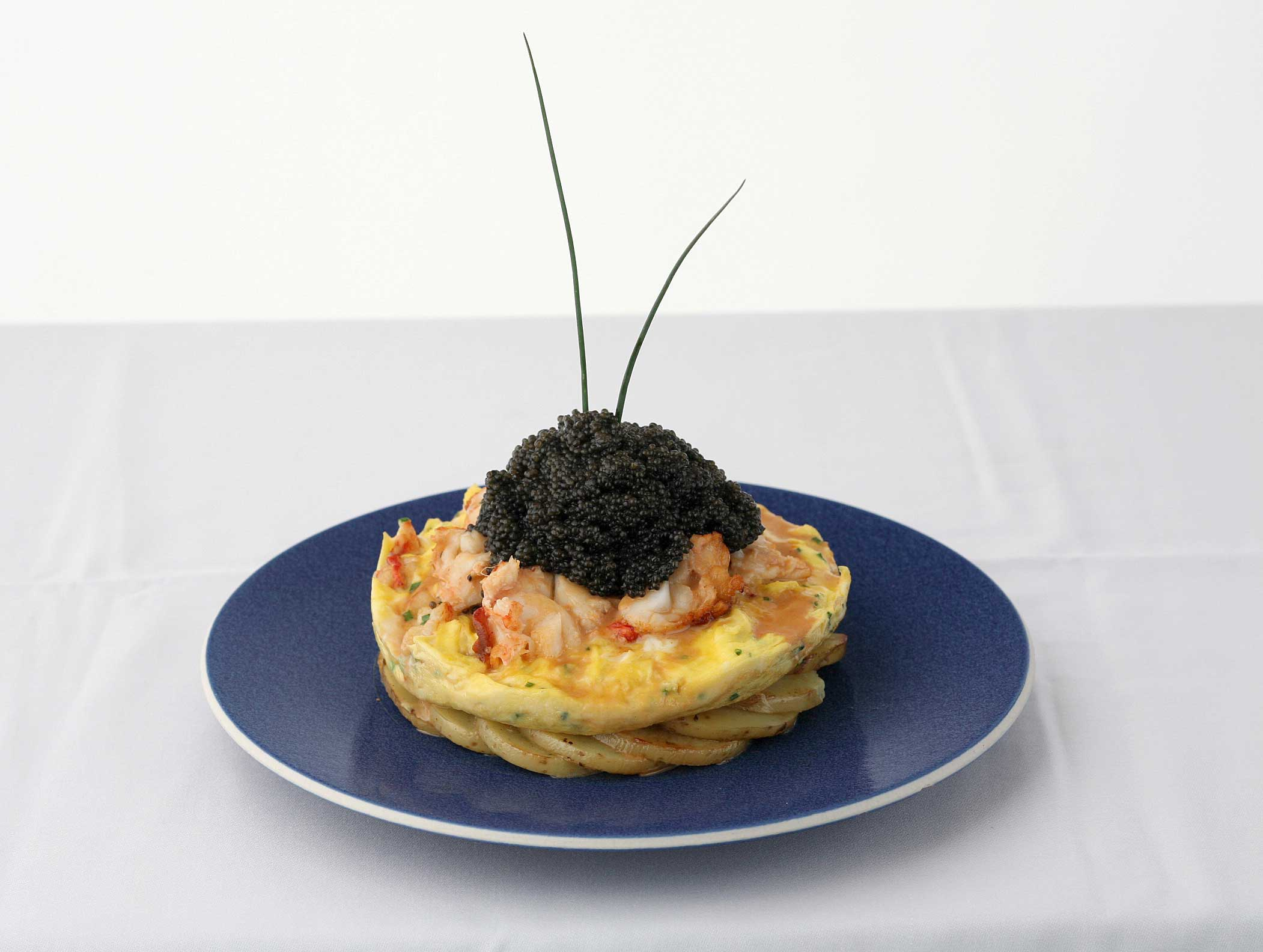 Zillion Dollar Lobster Frittata