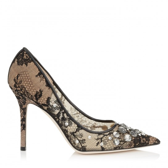 Pumps in pizzo