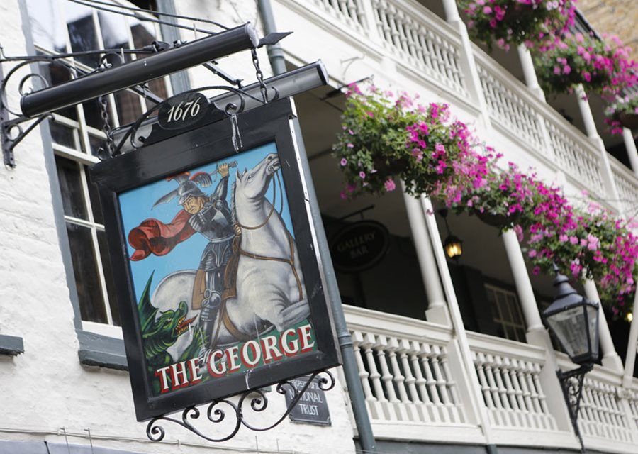 The George Inn pub Londra