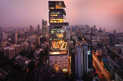 Antilia – Mumbai, India