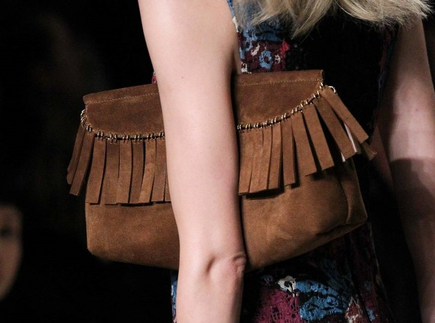 Clutch con frange Burberry