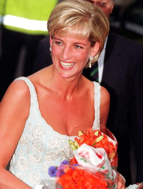 Look di Lady Diana