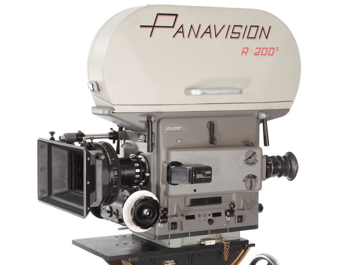 Panavision PSR 35mm motion picture camera used for Star Wars