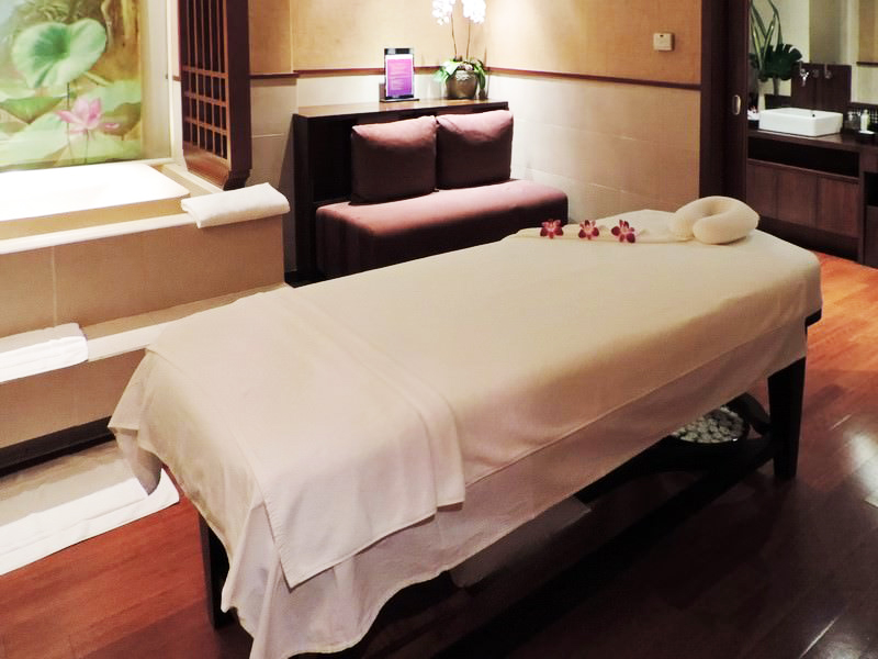 Thai Airlines Royal Orchid SPA Lounge Bangkok Suvarnabhumi International Airport