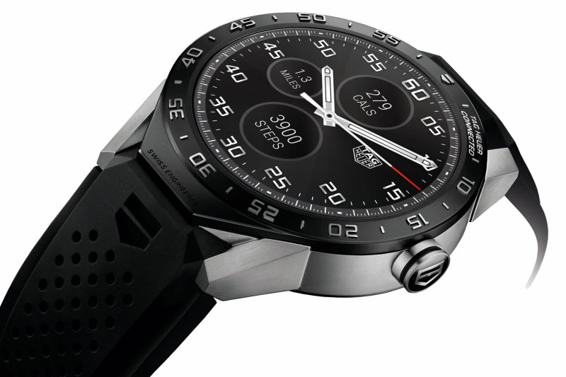 Tag Heuer presenta Connected, il primo smartwatch di lusso per Android