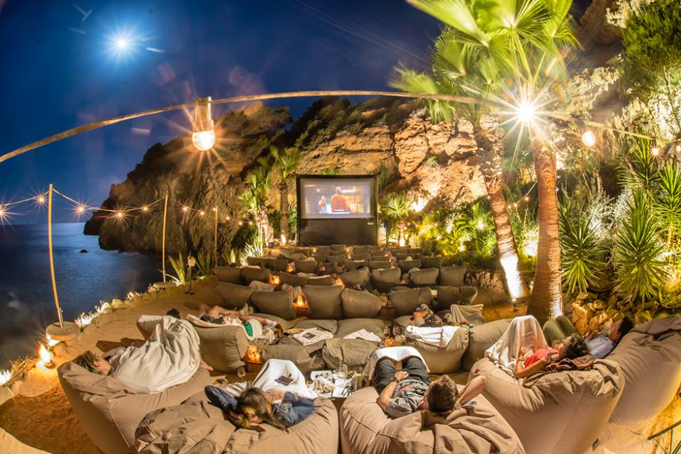Amante Beach Cinema Ibiza