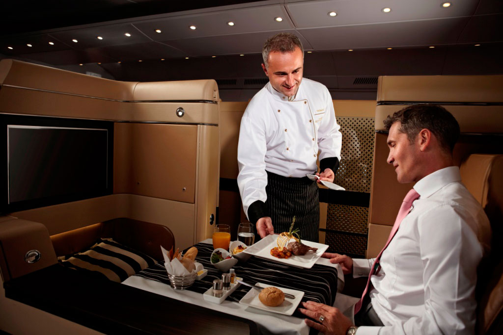 Etihad Diamond First Class Personal Chef