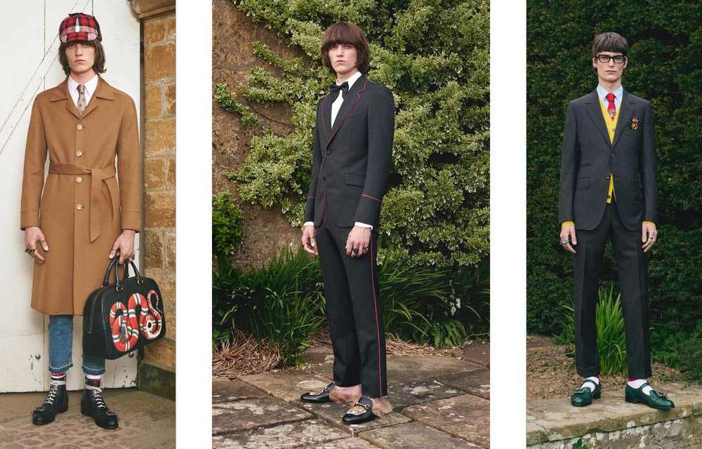 Gucci presenta la nuova Men's Cruise Collection per il 2017 [FOTO]
