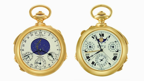 PATEK PHILIPPE–HENRY GRAVES–POCKET WATCH