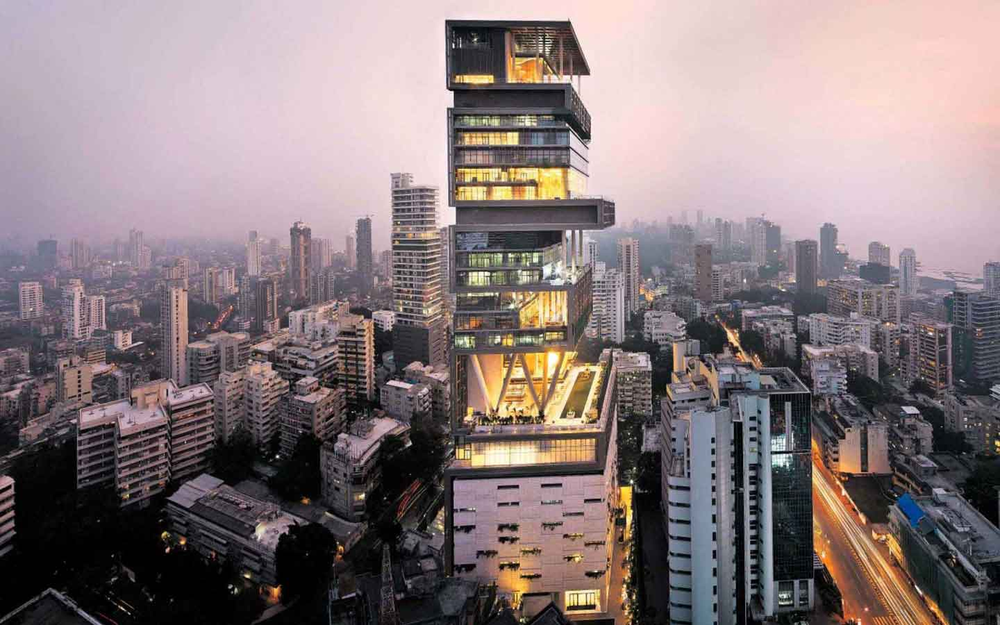 Antilia, Mumbai, India