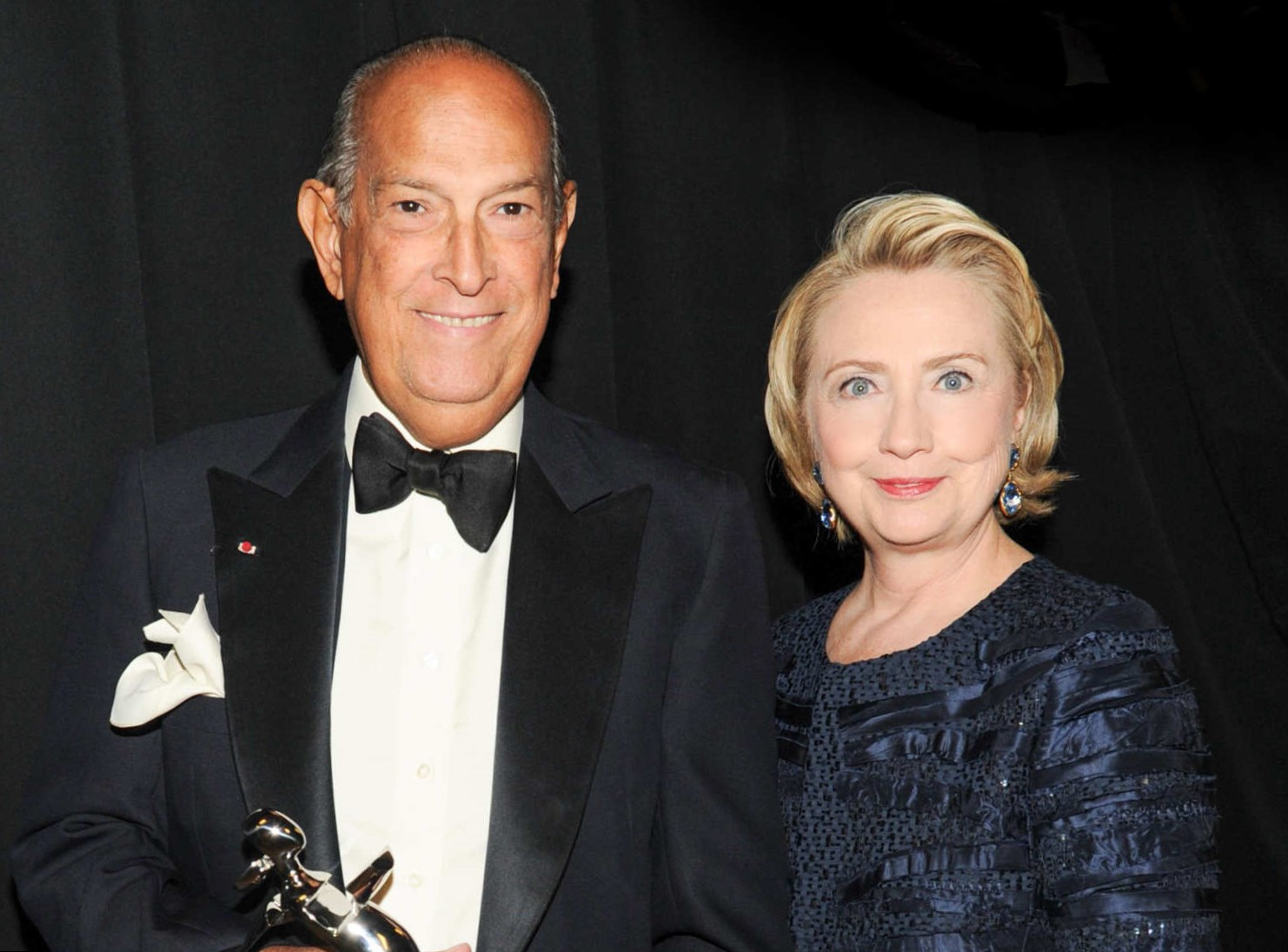 Hillary Clinton Hair Celebrity Hair Changes. Hillary Clinton and Oscar de la Renta