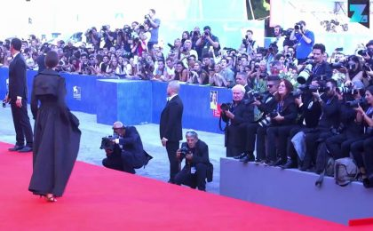 Il primo red carpet del Festival del Cinema di Venezia 2016