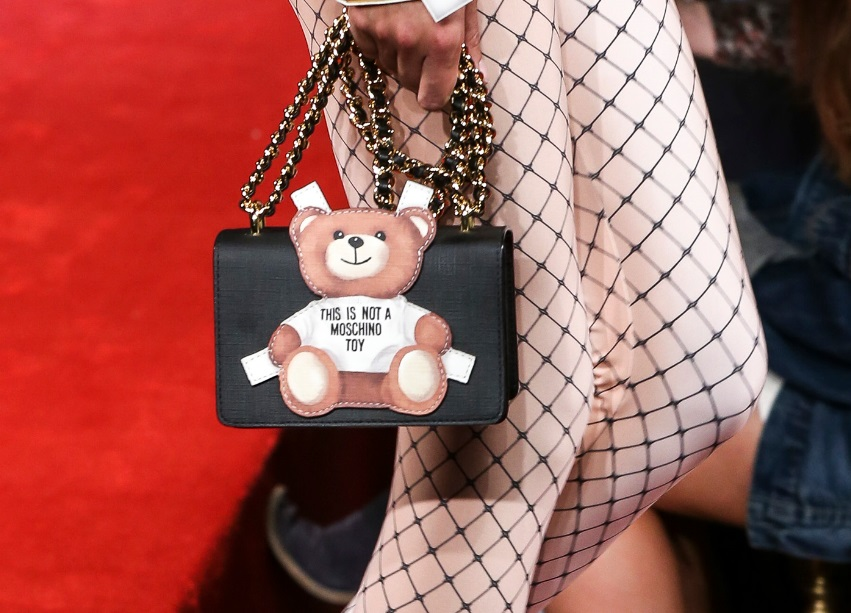 Mini bag Teddy Moschino