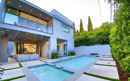 La casa di Rich Paul a Beverly Grove (Los Angeles)