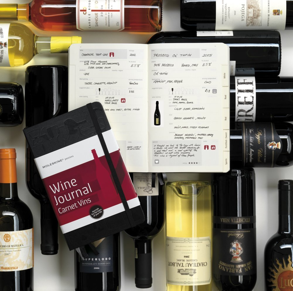 Moleskine Passion Book vino