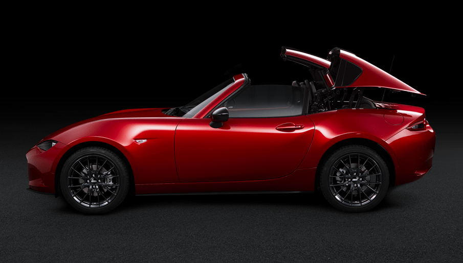 mazda mx 5 rf limited edition aperta