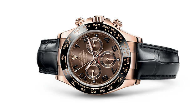 rolex daytona chocolate