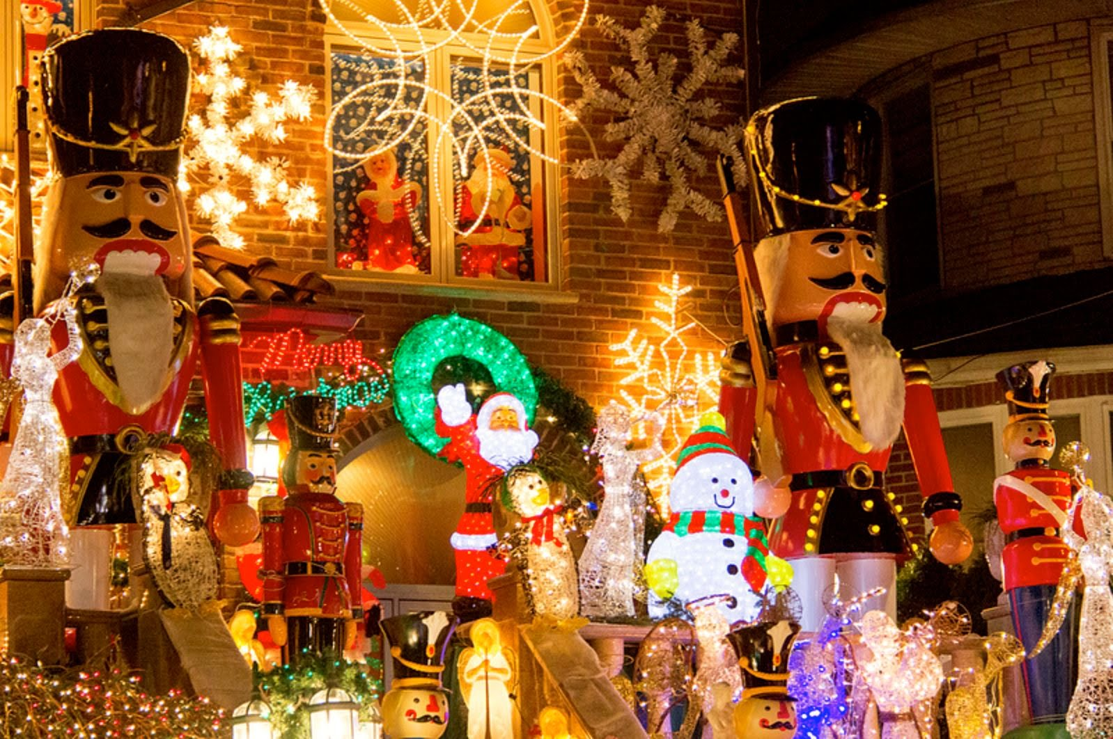 Brooklyn Christmas Lights di Dyker Heights