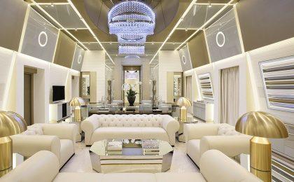 La Suite Katara dell'Hotel Gallia di Milano è la più bella e lussuosa del mondo