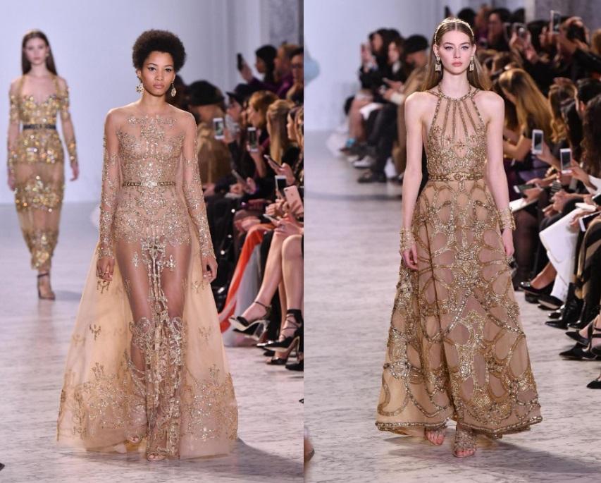 Abiti preziosi Elie Saab Haute Couture 2017