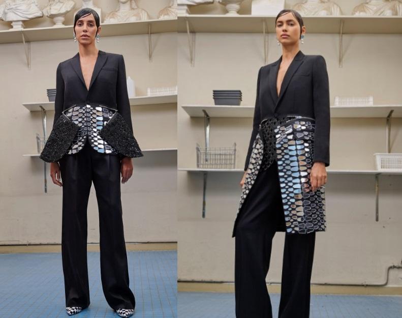 Cappotti e tailleur Givenchy Haute Couture inverno 2017